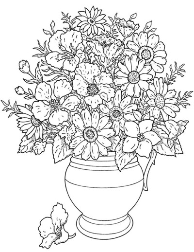 400x518 Pictures Drawings Of Flower Vase,