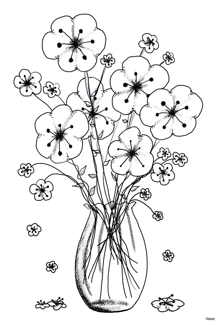736x1088 Black And White Flowers In Vase Clipart 6h Vases Flower Cliparti