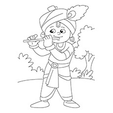 230x230 10 Best Flute Coloring Pages Your Toddler Will Love