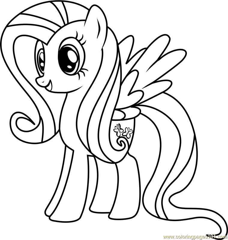 Fluttershy Drawing at GetDrawings.com | Free for personal use ...