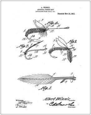 292x367 Fishing Fly Patent Drawing Fly Proportion Proporcie Musiek