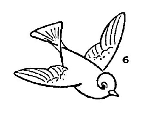 Simple Continuous Line Art : Flying bird line drawing at getdrawings.com free for personal use
