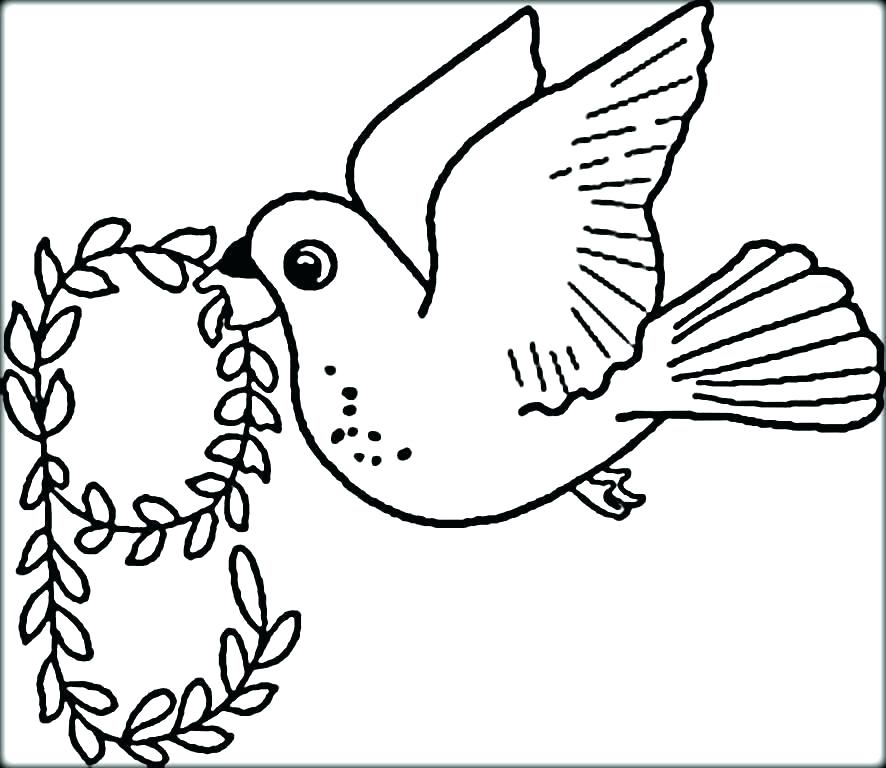 886x768 Birds Coloring Pictures Coloring Pages Of Birds Bird Coloring