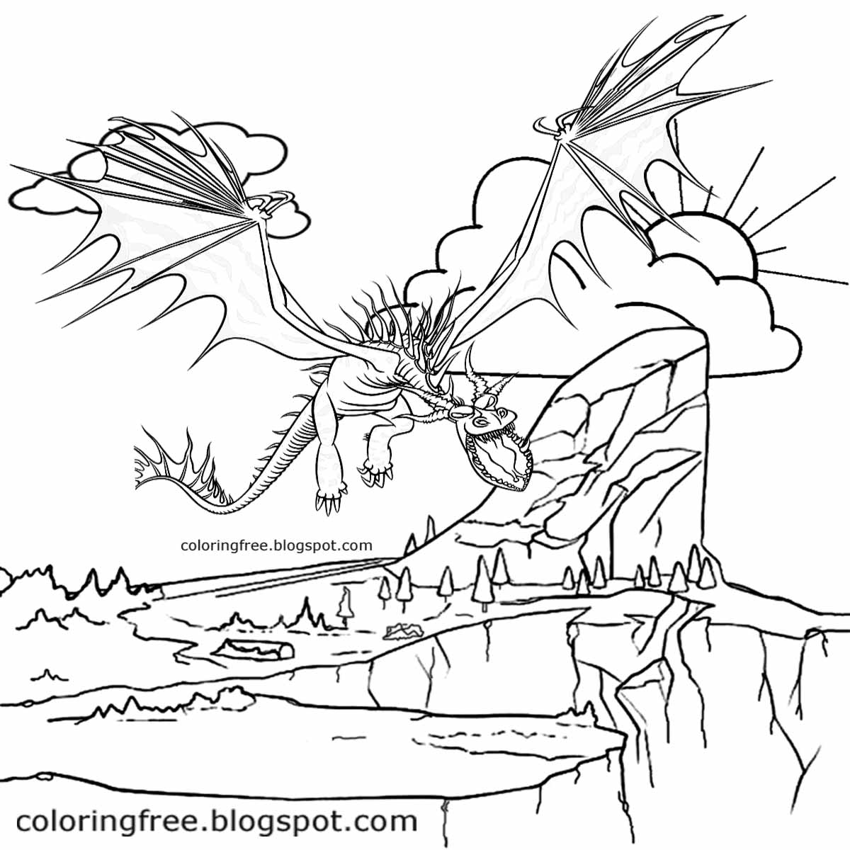 Flying Dinosaurs Drawing at GetDrawings.com | Free for personal use ...