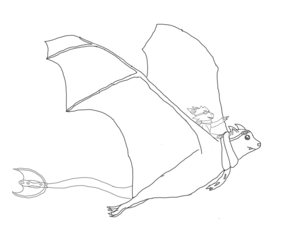 954x837 Icarus The Flying Fox