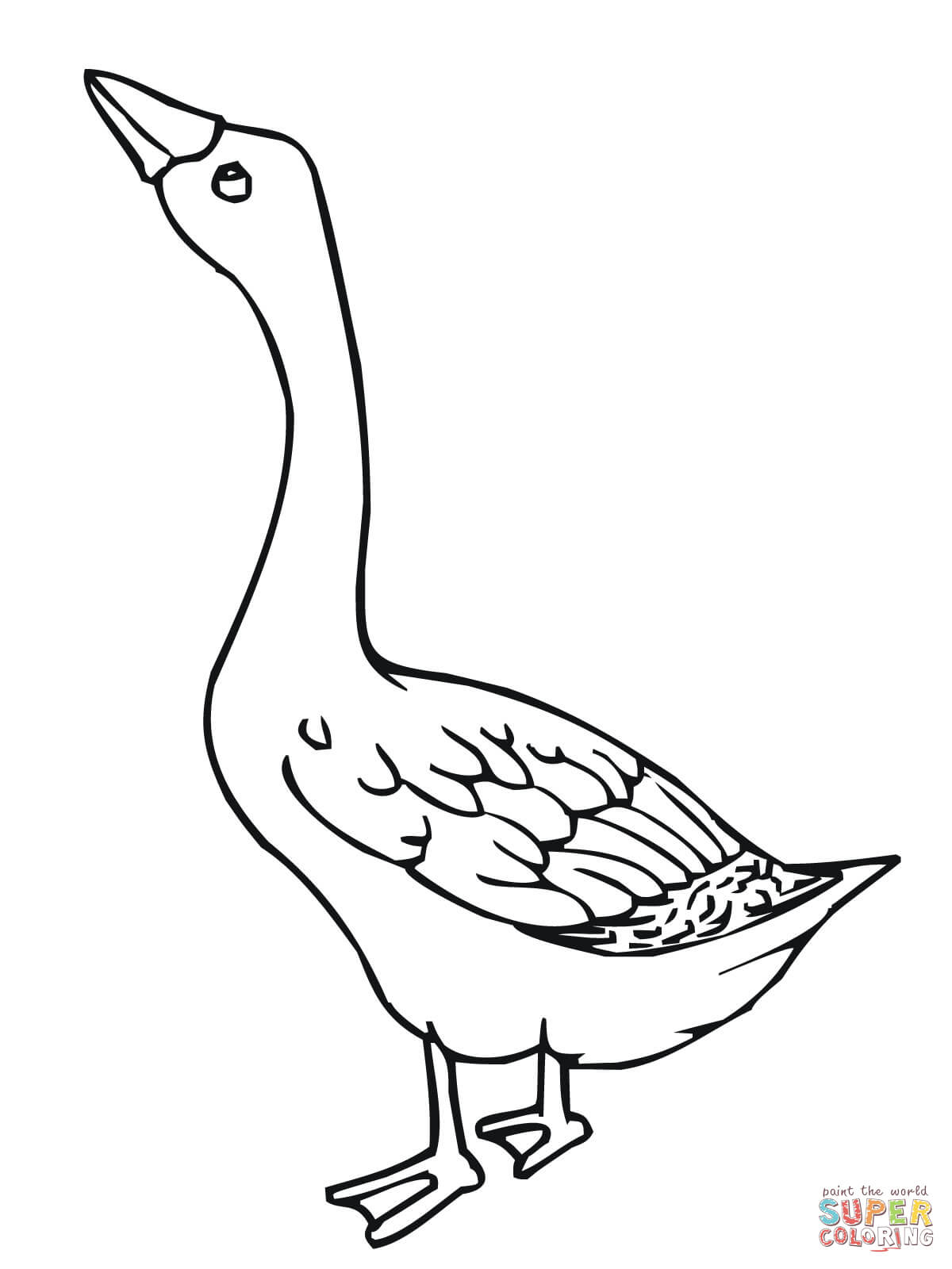 1200x1600 Drawing Of A Goose Flying Goose
