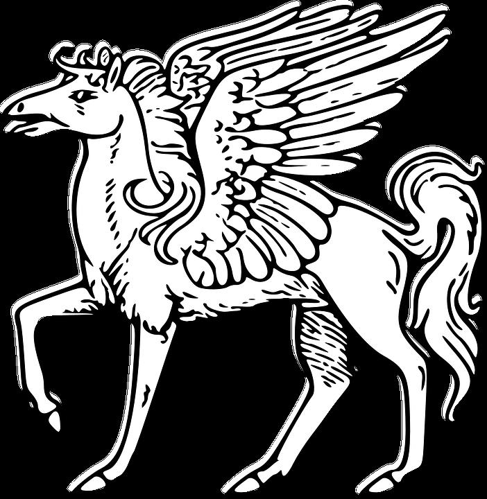 702x720 Free Photo Horse Myth Fantasy Winged Pegasus Mythological