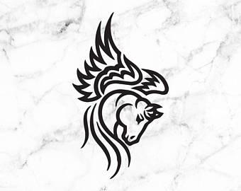 340x270 Pegasus Horse Etsy