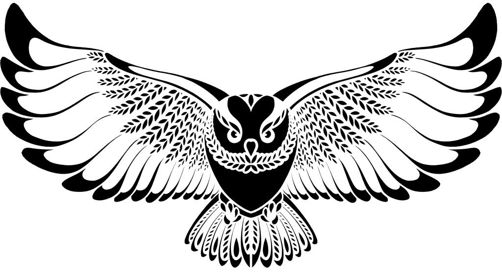 Flying Owl Drawing at GetDrawings | Free download