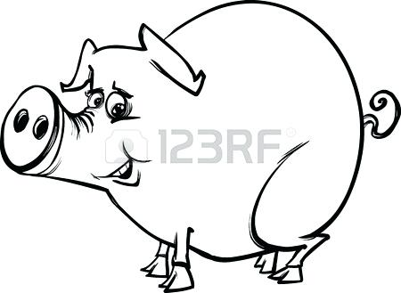 450x329 Coloring Book Pig Plus Flying Pig Coloring Pages Amazing Pig