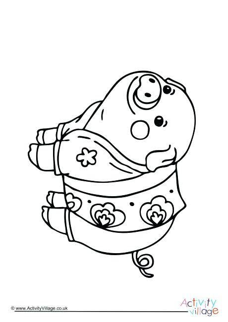 460x650 Pig Coloring Pages Flying Pig Coloring Pages Guinea Pig Coloring
