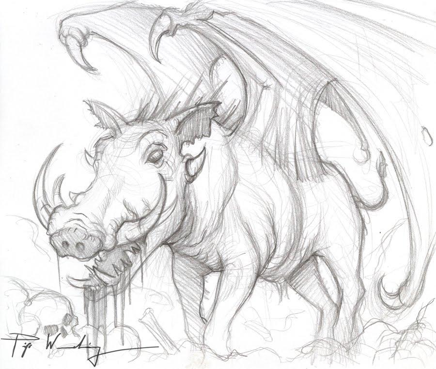 900x762 Piya's Studio When Pigs Fly .