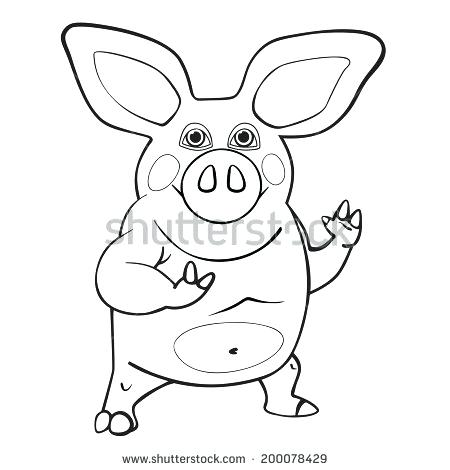 450x470 Coloring Book Pig Plus Flying Pig Coloring Pages Amazing Pig