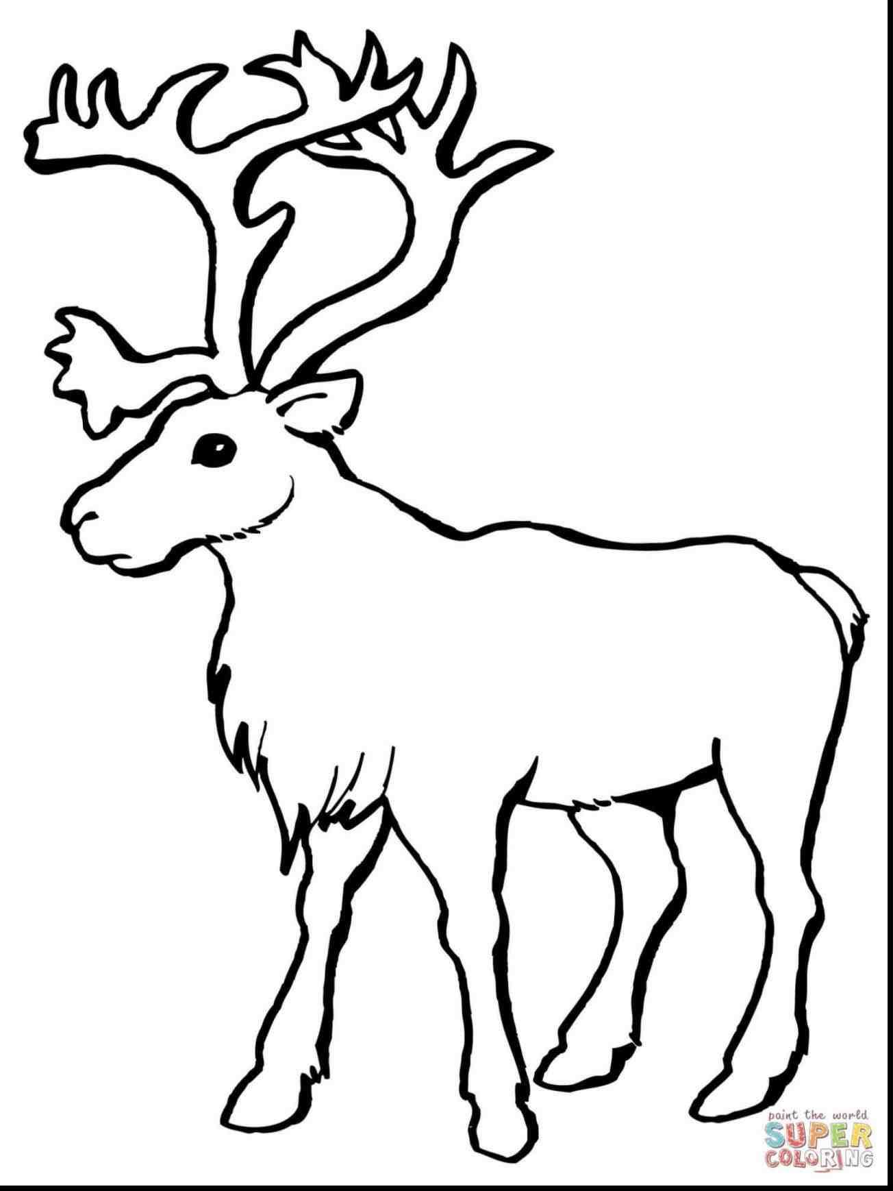 Flying Reindeer Drawing at GetDrawings | Free download