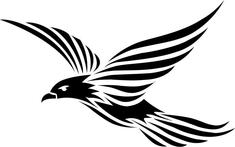 900x564 Tribal Birds Tattoos