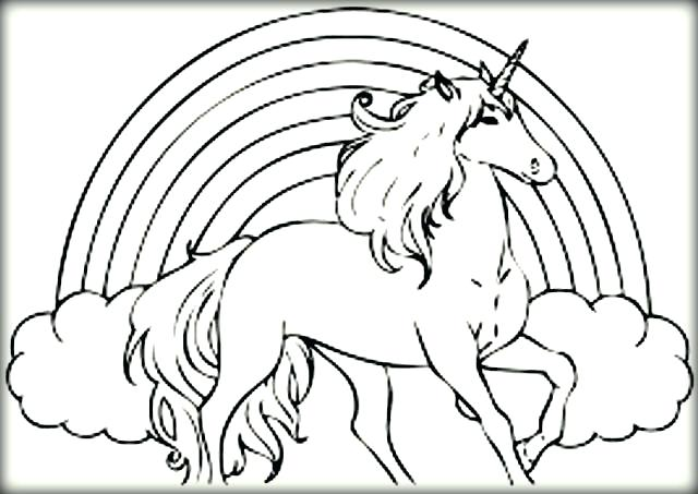 Flying Unicorn Drawing at GetDrawings   Free download