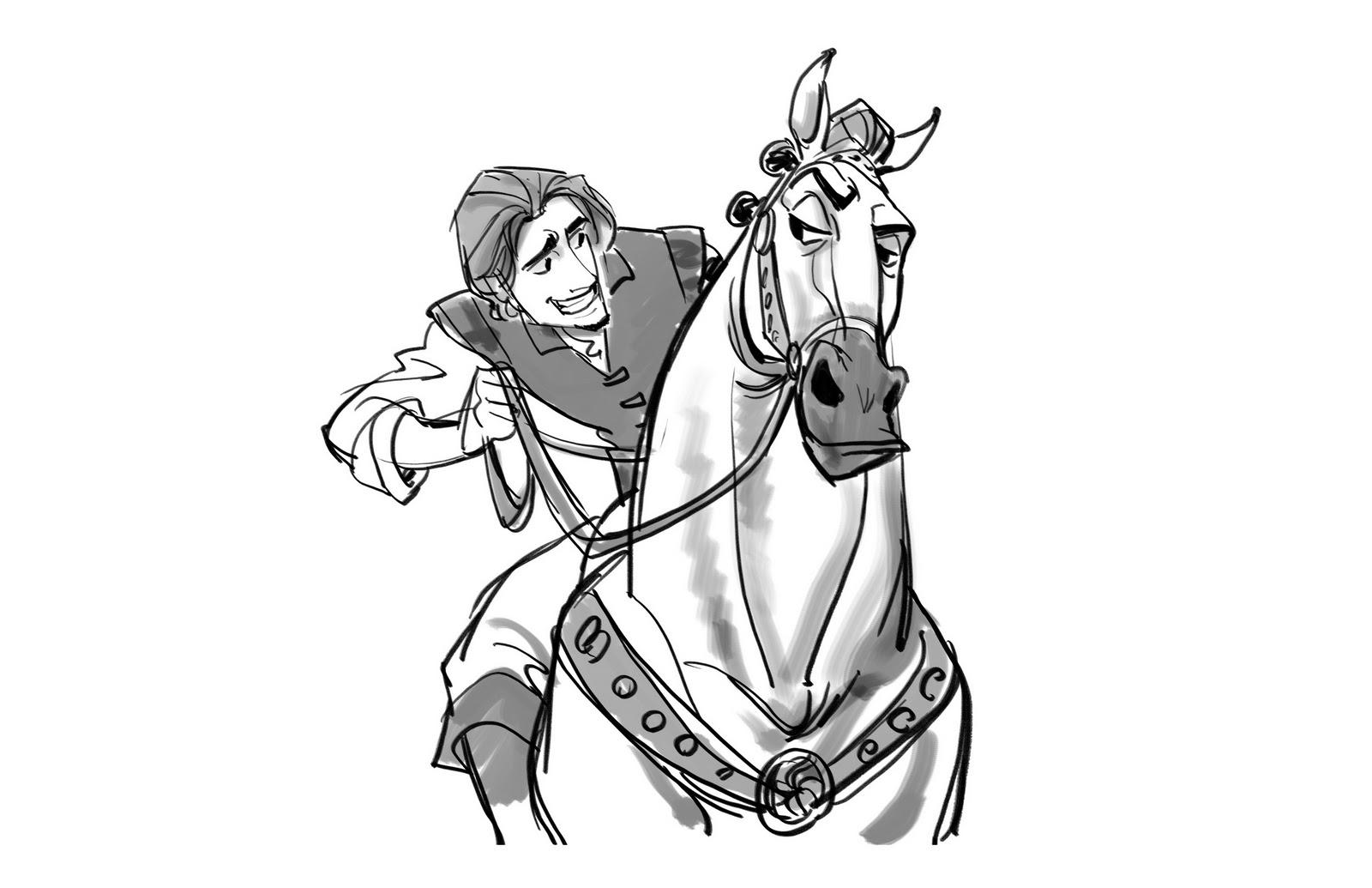 Flynn Rider Drawing