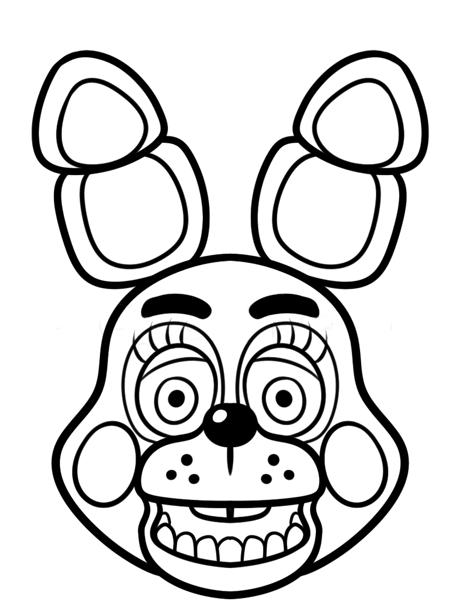 Exceptional image with fnaf printable coloring pages