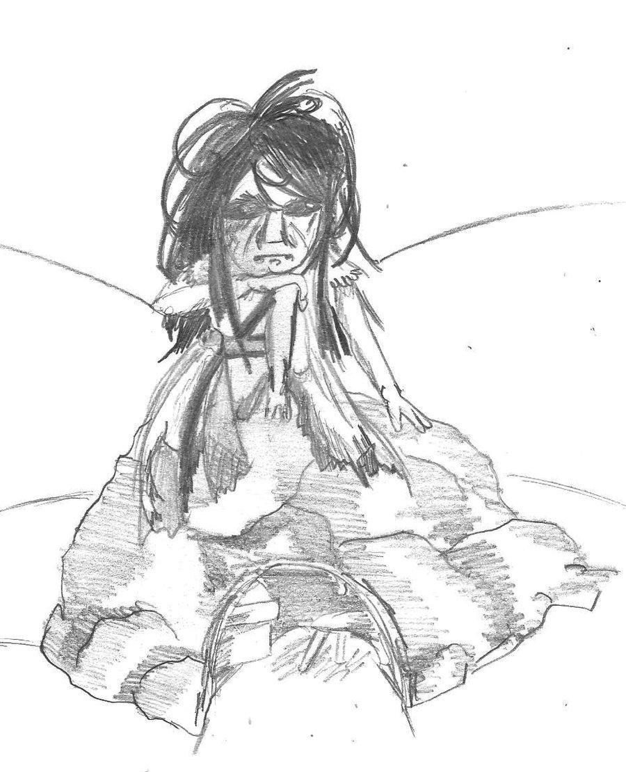 900x1110 Daymare Town 4 Fog Hermit By Taiya001