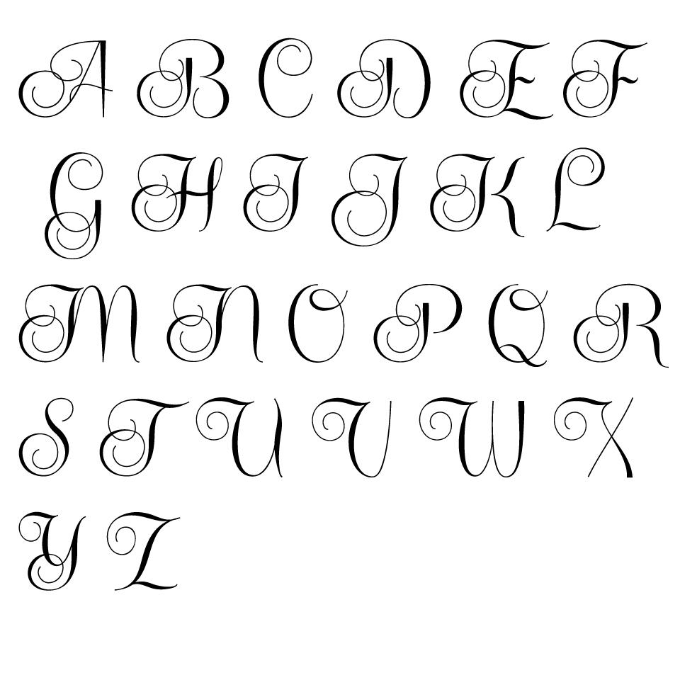 960x960 Cool Alphabet Fonts To Draw Easy Our