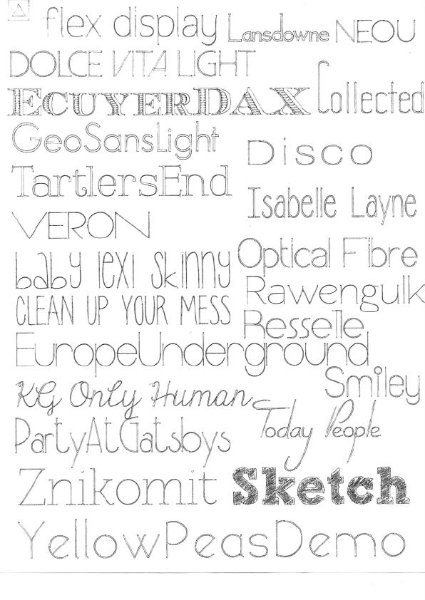 596x842 Free Skinny Silhouette Sketch Pen Fonts