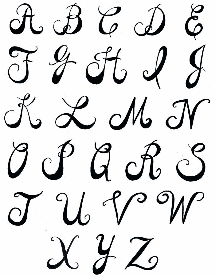 700x900 Letter Fonts Pamela's Parasols Lettering And Fonts Fonts