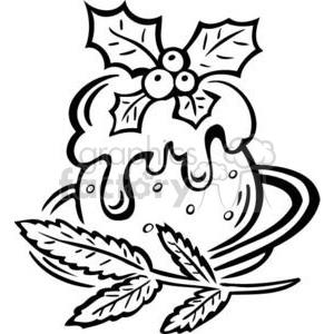 300x300 Royalty Free Christmas food 381096 vector clip art image