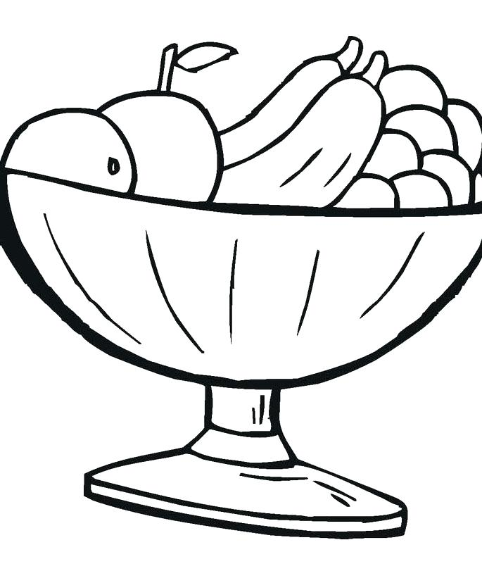 685x811 Food Coloring Kids Food Pictures Kids Coloring Pages