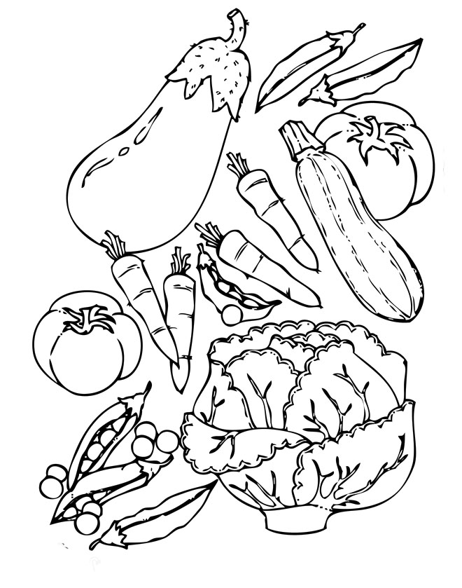 660x839 Food Coloring Pages Healthy Food