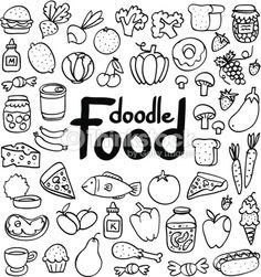 236x251 Fournitures de cuisine Sketchy Doodles, Bullet and Journal