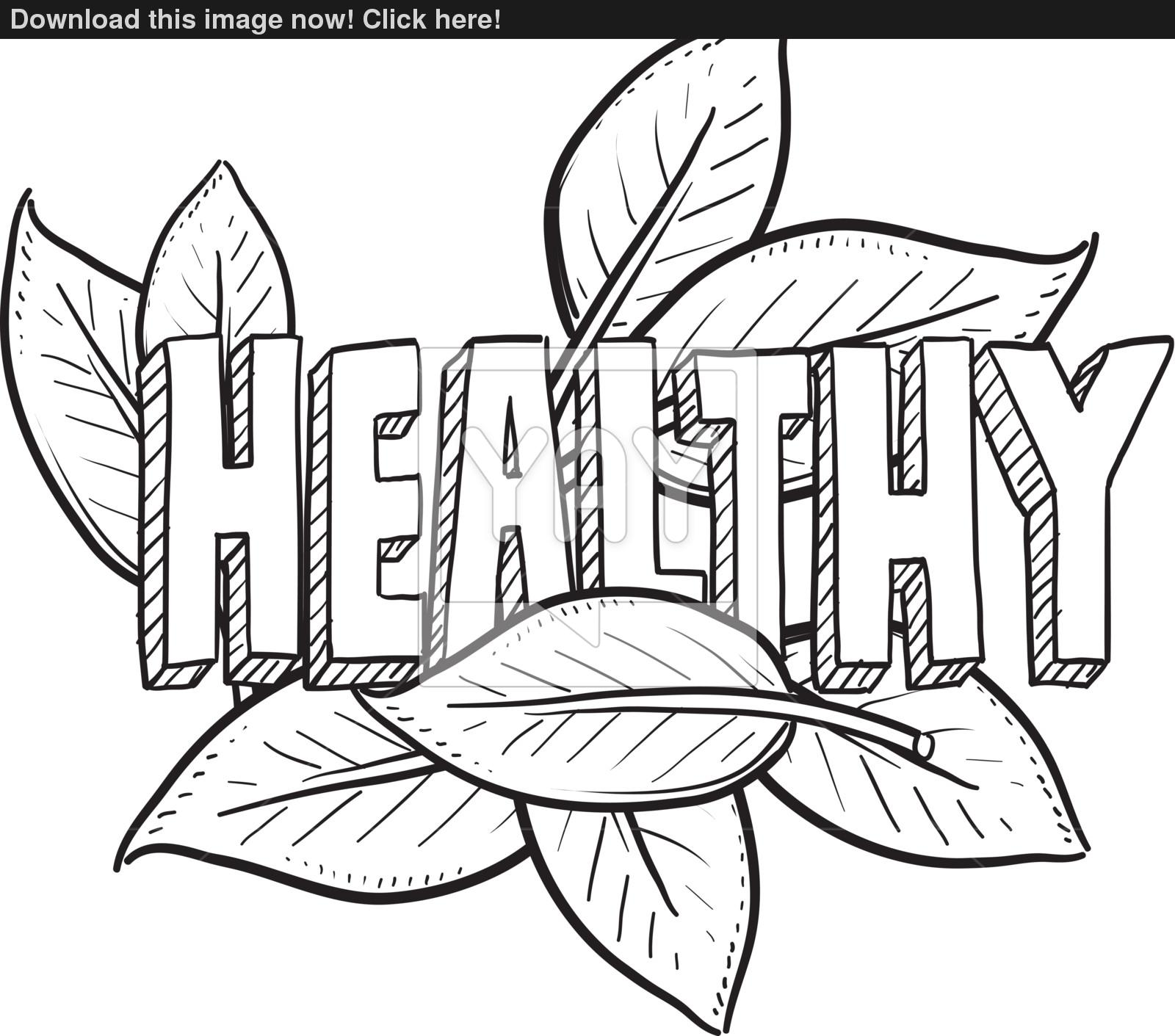 1600x1411 Healthy food sketch vector