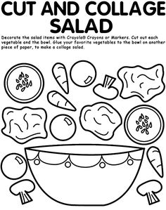 236x299 A Great Color Your Plate Activity Kids. Pinning Here Not