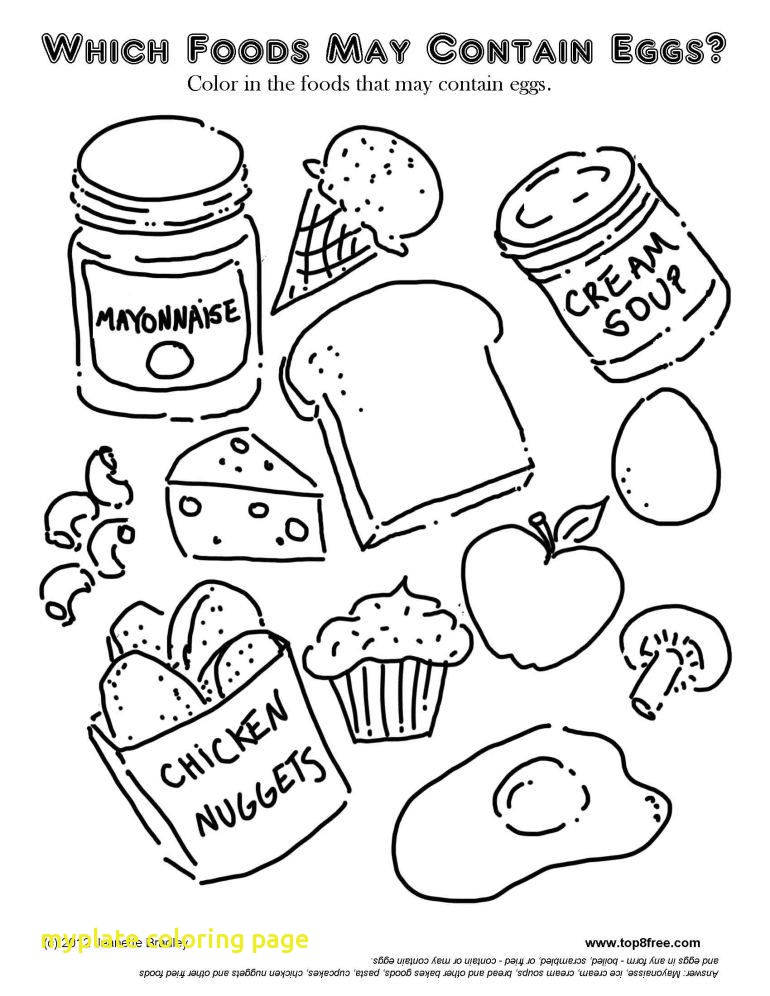770x996 Myplate Coloring Page With Coloring Usda My Plate Coloring Sheet