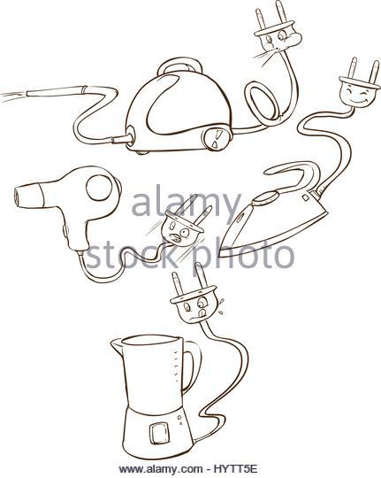 431x540 Drawing Food Processor Stock Photos Amp Drawing Food Processor Stock