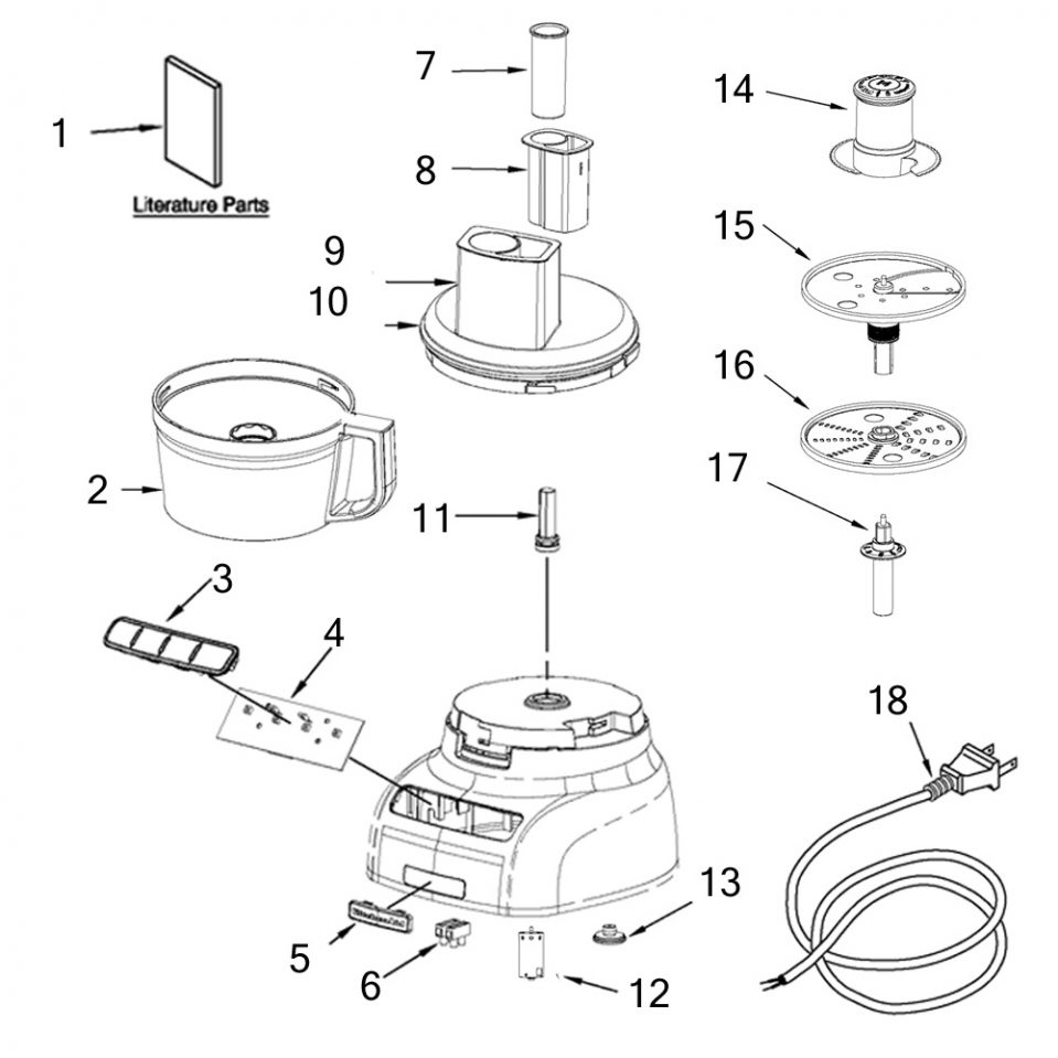 Food Processor Drawing At Getdrawings Com Free For