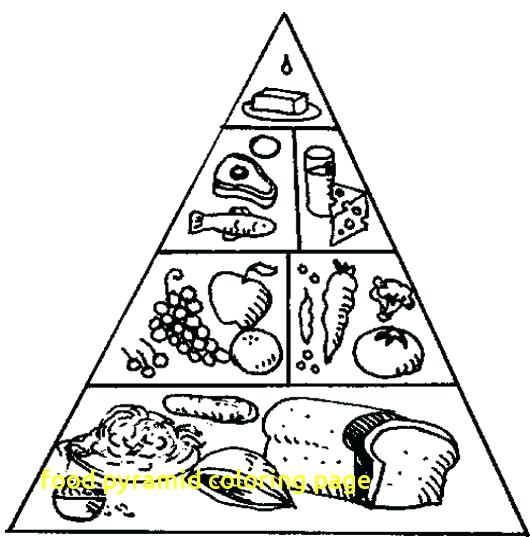 530x537 Pyramid Coloring Pages Amazing Pyramid Coloring Page Fee Food