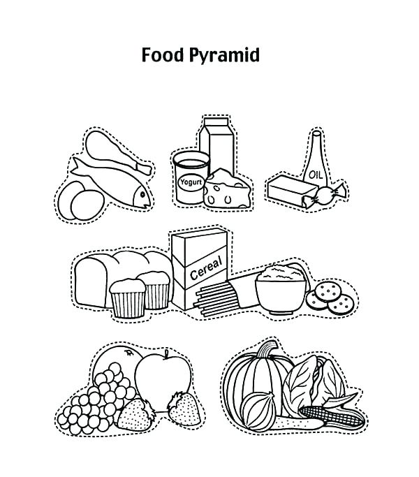 600x683 Pyramid Coloring Pages