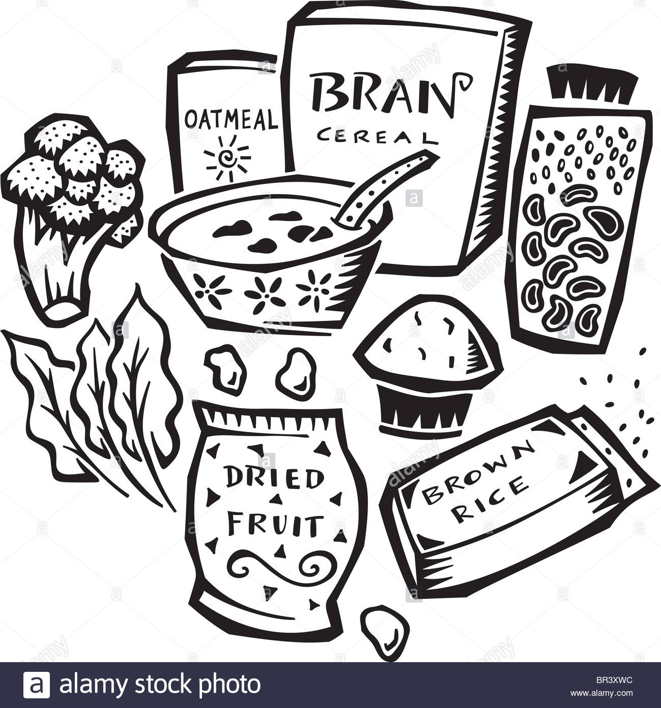 Foods Drawing