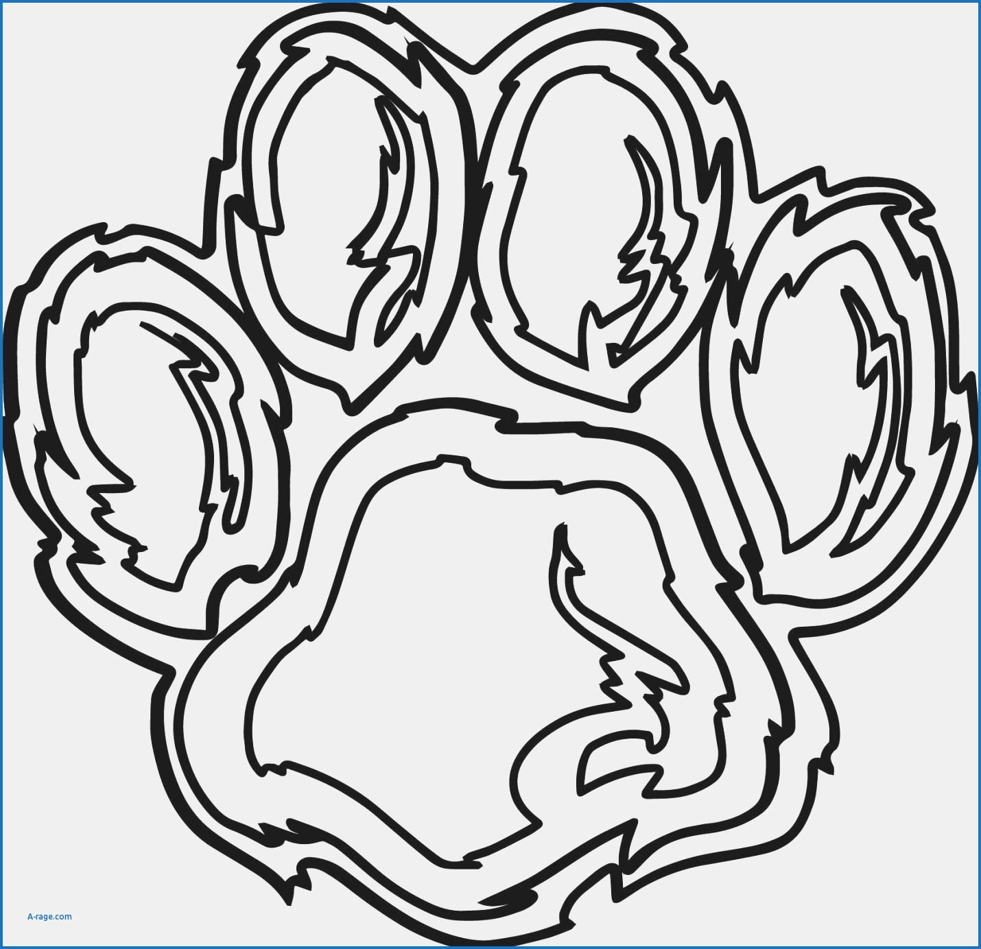 Foot Print Drawing