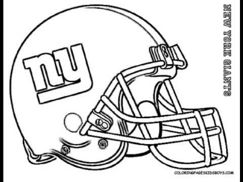 480x360 Coloringbuddymike Football Helmet Coloring Pages