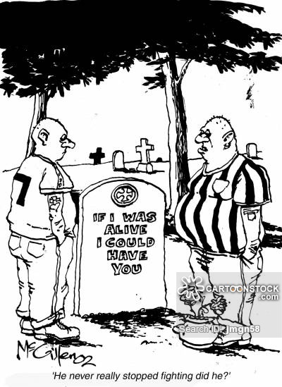 400x549 Football Violence Cartoons And Comics