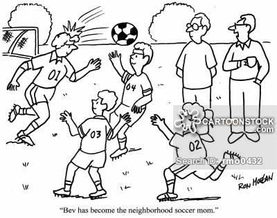 400x315 Monster Designs Children Playing Football Cartoon