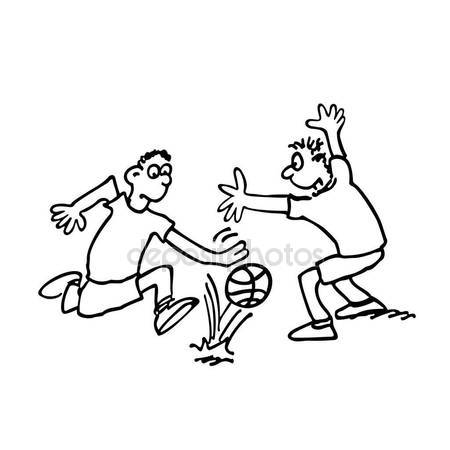 450x450 Football Play Cartoon Illustration Stock Vector Oriu007