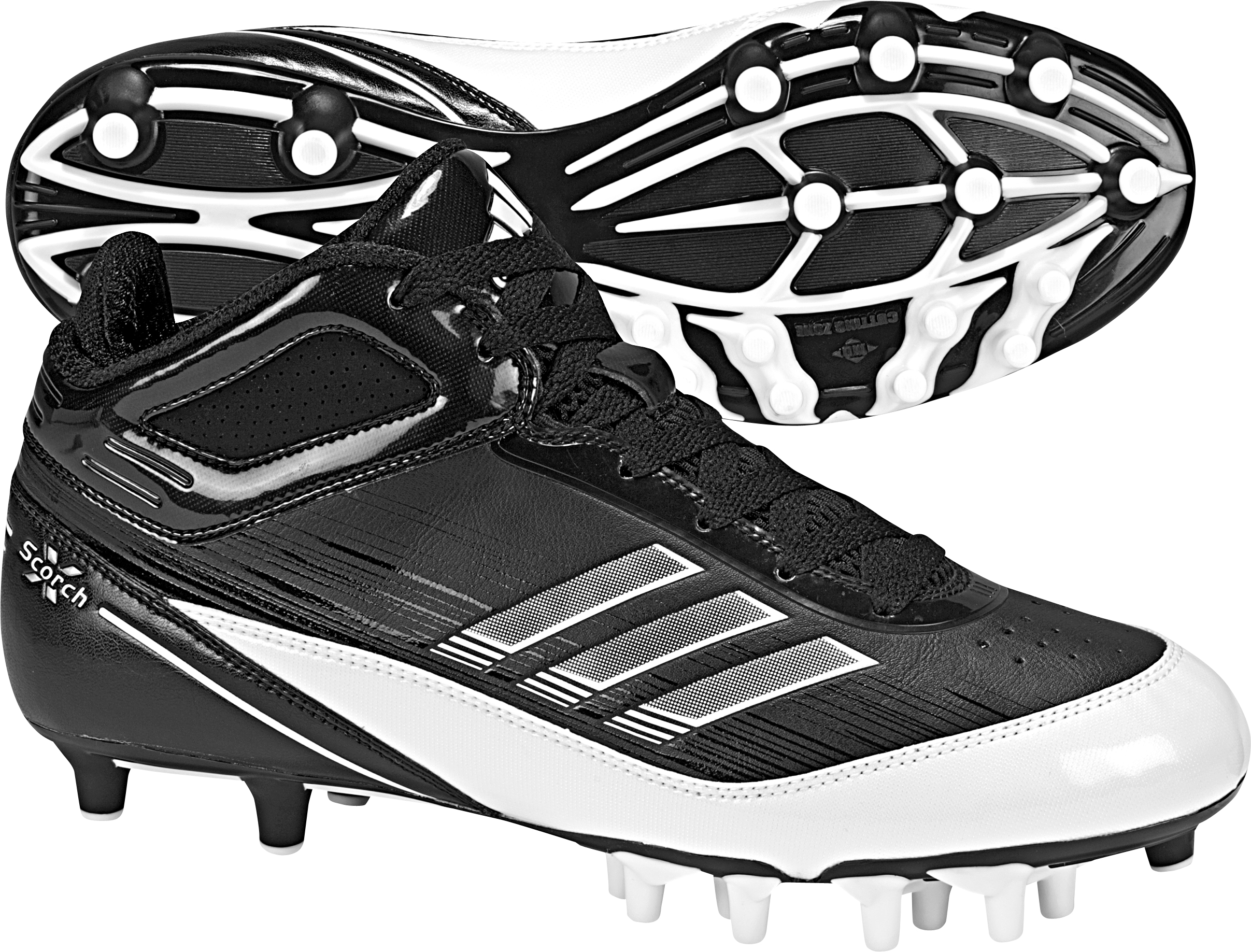 2414x1837 Adidas Men's Scorch X Superfly Mid Football Cleat