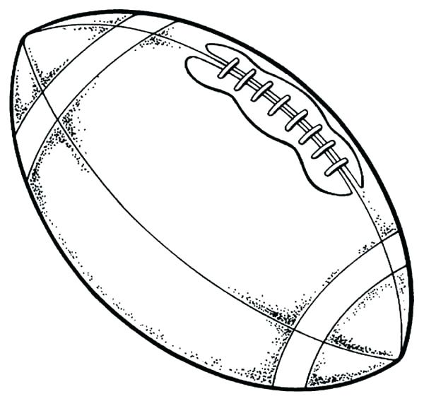 600x568 Draw Football Player Coloring Pages For Your Free Kids Of Players