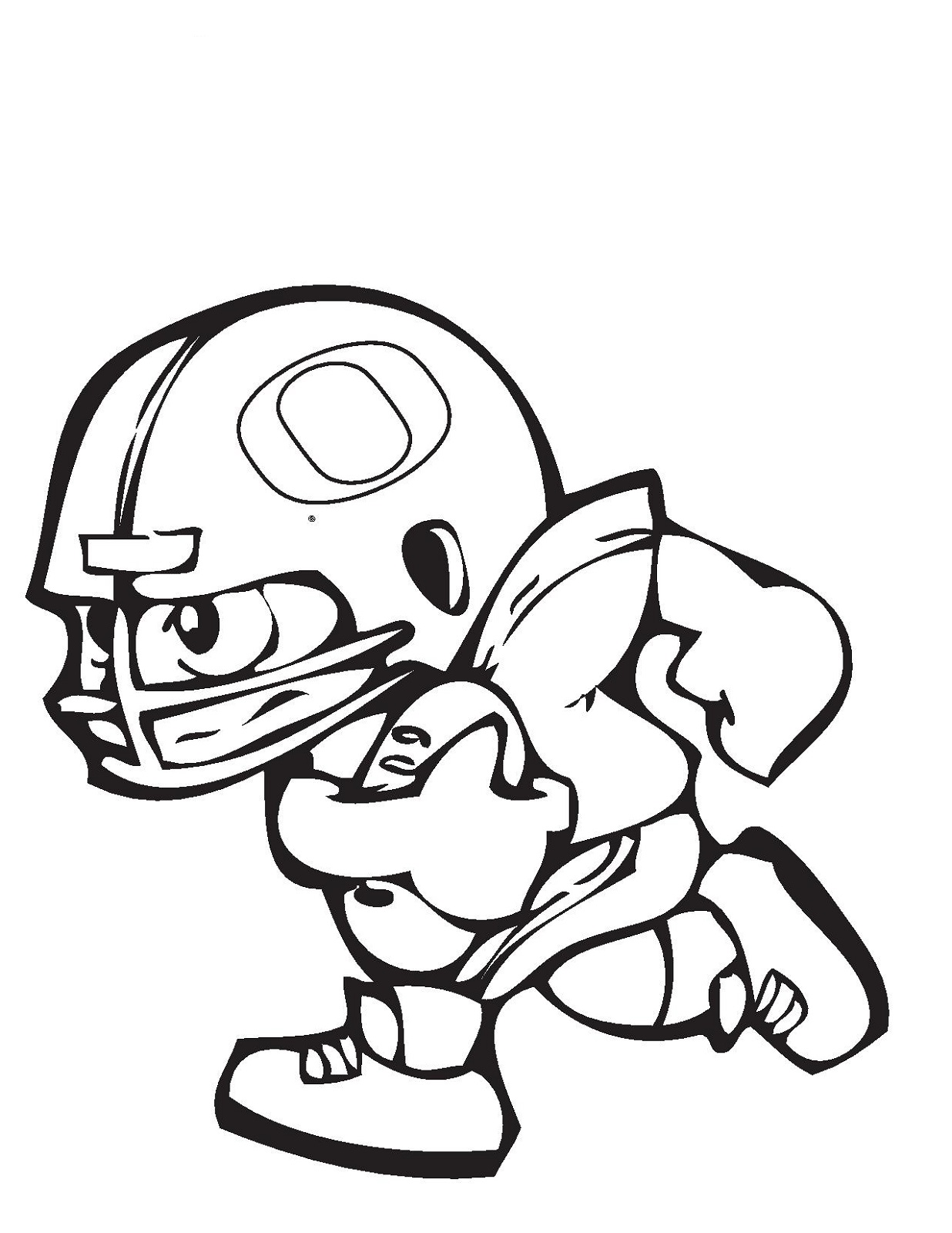 1236x1600 Football Color Pages 2018 Kiddo Shelter
