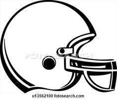 236x202 Football Helmet Template