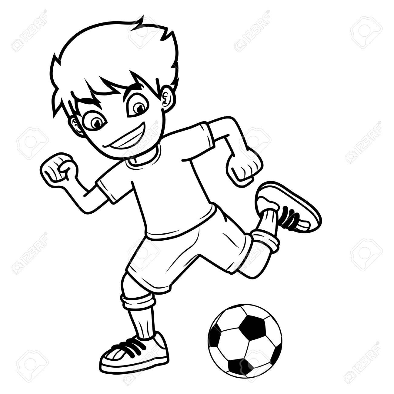 Football Drawing Image