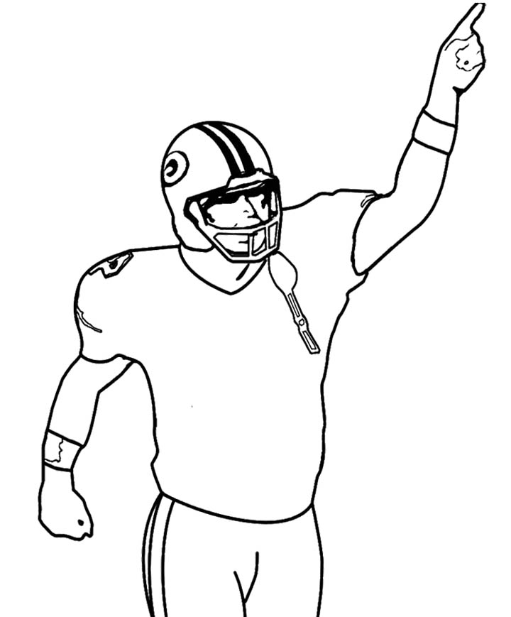 720x869 Drawings Of Football Players
