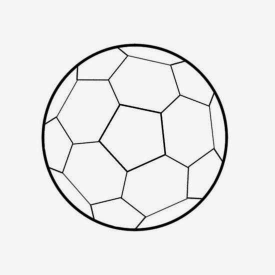 550x550 How To Draw A Football Step By Step Guide ~ Glo Support